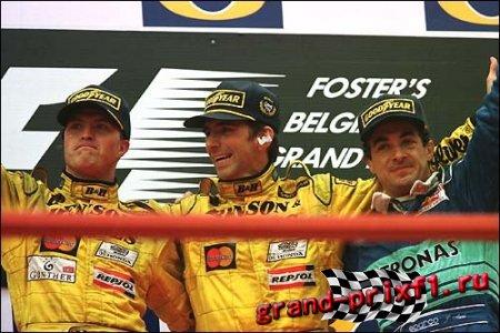 Вспомним как это было, обзор Гран при Бельгии 98