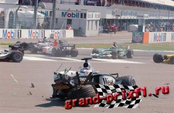 Аварии Формулы 1