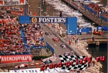 Онлайн Гран-при Монако 1993 (Монте-Карло)