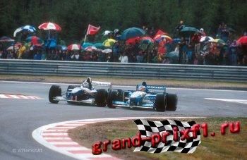 Онлайн Гран-при Бельгии 1993 (Спа-Франкоршам)