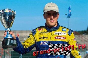 Победа Алонсо в Формуле 3000 (Спа-Франкоршамп)