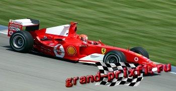 Шумахер чемпион , или последние Гран-При .