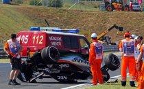 Авария Переса на Гран-При Венгрии 2015