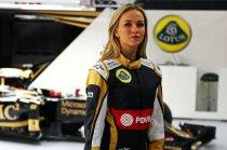 Кармен Хорда и Lotus F1 Team