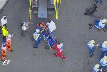 Карлос Сайнс , увезен в госпиталь в сознание