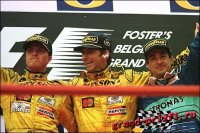 Гран-При Бельгии 1998 аварии на стартовой решетке