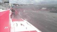 Гран При России 2015 , авария Карлоса Сайнса