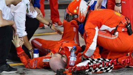 Гран-при Бахрейна. Райкконен сбил механика на пит-стопе