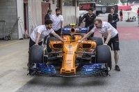 У McLaren новый носовой обтекатель