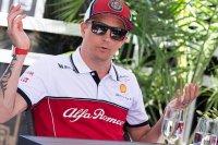 Кими Райкконен отказался читать контракт с Alfa Romeo